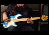 Sandberg VM4 Bass in Marley Blue Finish