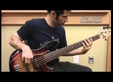Mikey Hachey: Fender American Deluxe Jazz Bass V