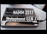 NAMM 2017: Dubreq Stylophone GEN X-1 Synthesizer