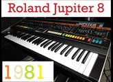 """Talking"" with Roland Jupiter 8, TR-808, Juno 106, Juno 60, JX-3P, SH-101, and System 8"