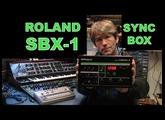 MF#40 ROLAND SBX-1 Sync Box midi din cv gate converter
