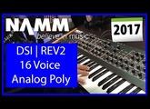 NAMM 2017 | REV2 | Dave Smith Instruments | Day 1 Audio Demos