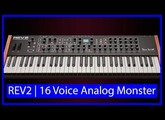 Dave Smith Instruments | REV2 | 16 voice Analog Poly Synth