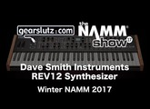 Dave Smith Instruments REV2 poly analogue synth - Gearslutz @ Winter NAMM 2017