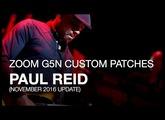 Paul Reid - Downloadable G5n Patches
