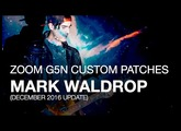 Mark Waldrop of The Digital Age - Downloadable G5n Patches