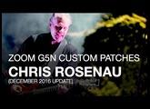 Chris Rosenau of Volcano Choir - Downloadable G5n Patches