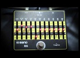 Review CALINE CP-24 10 BAND GUITAR/ BASS EQ  by www.doodeeguitar.blogspot.com