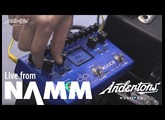 Mooer at NAMM 2017 with Devin Townsend