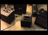 Henriksen, Polytone, AER Jazz Amp Comparison