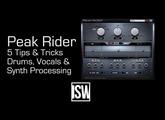 Five Ways to Use Peak Rider (Dynamics / FX Plugin)
