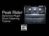 Drum Fattening with Peak Rider (ft. developer Zach Hughes)