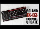 Roland JX-03 Firmware UPDATE : Tutorial