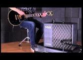 Vox VT40X modelling guitar amp demo