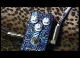 Doc Music Station DARK BLUE II Distortion pedal demo with Les Paul