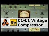 C1-L1 Vintage Compressor, C1-Alpha, C1-Sigma - Rack Extensions