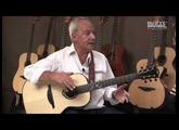MICHEL HAUMONT présente sa nouvelle guitare LÂG Signature ( La Boite Noire )