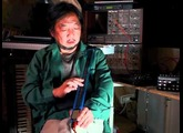 Star Trek Theme on eowave ribbon by Nori Ubukata