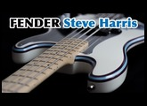 FENDER PRECISION STEVE HARRIS - Test /// Bruno Tauzin