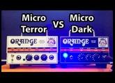 Orange Micro Dark VS Micro Terror Shoot-out
