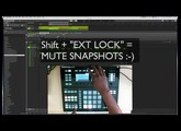 Maschine 2.6 Update: Mute Automation on Maschine Studio