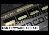 G5n Firmware V2.0 Update
