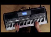 Kraft Music - Yamaha PSR-S670 Arranger Demo with Blake Angelos