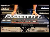 Roland Juno-106 Analog Synthesizer (1984) RetroSound Soundscapes sound demo