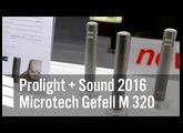 Microtech Gefell M 320 - Prolight + Sound 2016