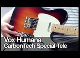 Vox Humana CarbonTech Special Telecaster | Kinman Broadcaster pickups | VOX AC15C1