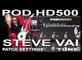 POD HD500 STEVE VAI Tone DISTORTION Patch USB [LINE 6].