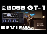 BOSS GT-1 GT1 demo review LIVE Sound. New Guitar Effects Processor.