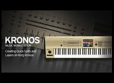 Creating Quick Splits and Layers on Korg Kronos