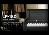 Korg LP180: A Sleek, Refined, and Minimalist Digital Piano For The Home