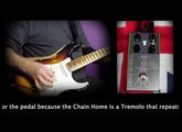 ThorpyFx Chain Home Tremolo and Boost pedal