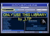 "Only use ""Bob Moog Tribute library for Omnisphere"" [110409]"