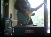 "Loïc Le Pape ""STEELVOLI"" bass - steel bodied bass guitar"