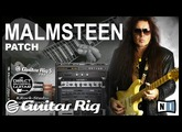 MALMSTEEN Overdrive on GUITAR RIG 5 Marshall Simulation GUITAR PATCHES.