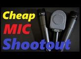 Cheap mic shootout : Superlux PRA 628 MKII vs PYLE PDMIC78 vs T.BONE MB75