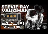 ZOOM G3 STEVIE RAY VAUGHAN Tone GUITAR PATCHES SRV Sound.
