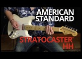 American Standard Stratocaster® HH Demo | Fender