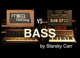 Minimoog Model D vs Sub 37: Bass