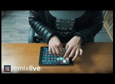 Remixlive 3.0 for Android - Finger drumming [Performance by Pedro Le Kraken]