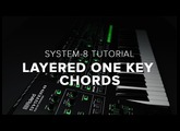 Roland SYSTEM-8 How-To: Layered One Key Chords