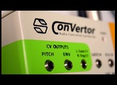 The ConVertor intro - Audio controlled analog synthesizer