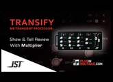 Transify Multi-band Transient Processor Plugin By JST - Show & Reveal