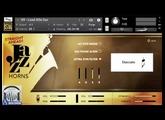 Demo - Impact Soundworks Straight Ahead Jazz Horns v2.0   KONTAKT   SYNTHiC4TE