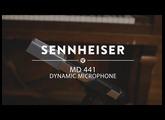 Sennheiser MD 441 Dynamic Microphone | Reverb Demo Video
