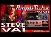 AMPLITUBE 3 STEVE VAI Distortion Sound GUITAR PATCHES.