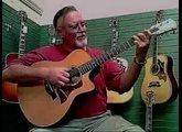 Oklahoma Vintage Guitar Bro Bobby playing a Taylor 716CE